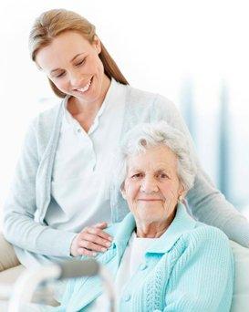 Сиделки для пожилых людей